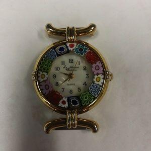 Murano La Murrina Veneziana glass watch